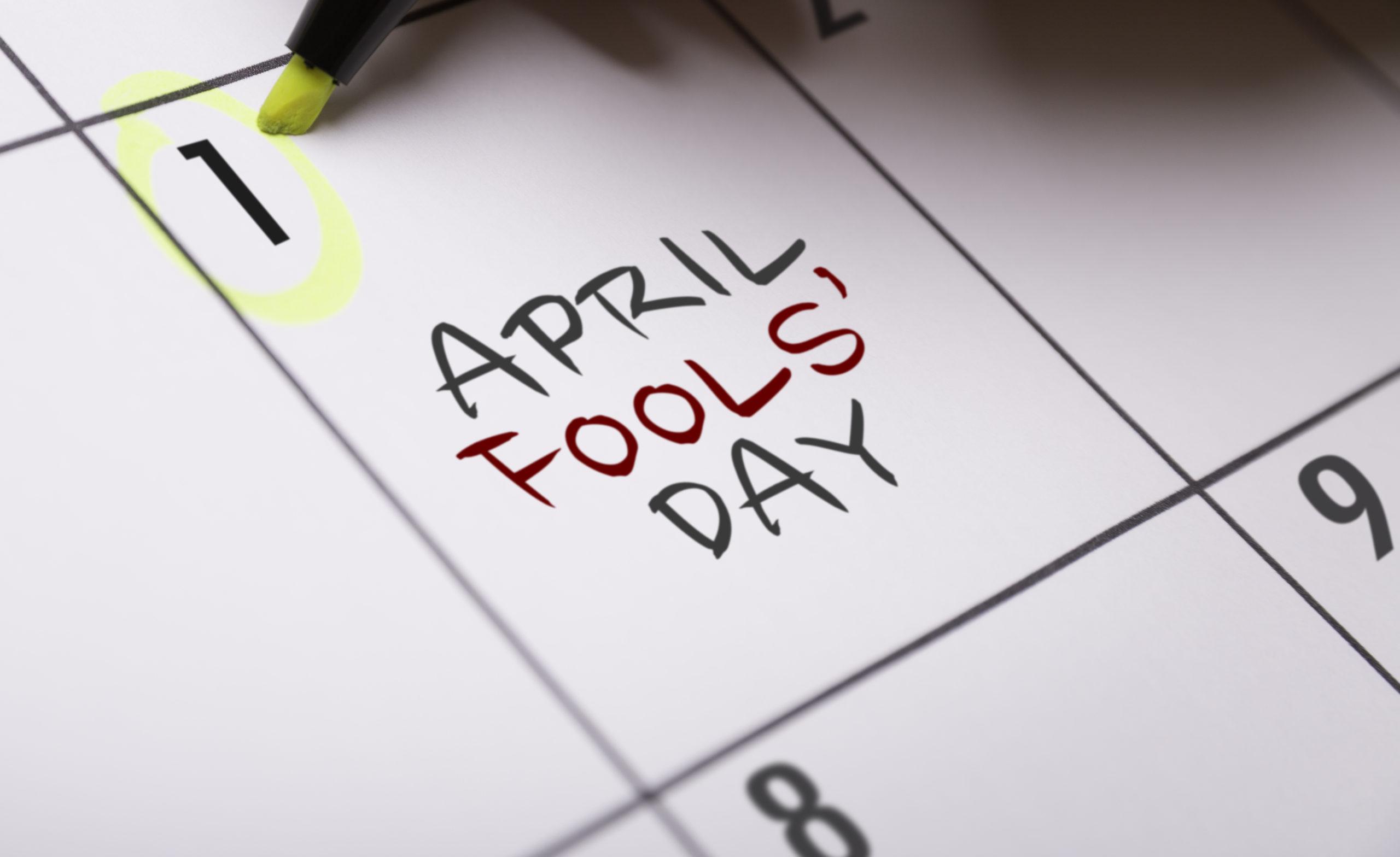 O que é o April Fool's Day?